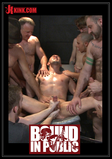 Bound In Public: Giant Cock Whored Out To The Horny Public cover