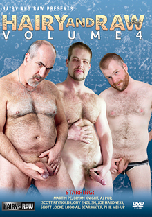 Hairy And Raw 4 cover