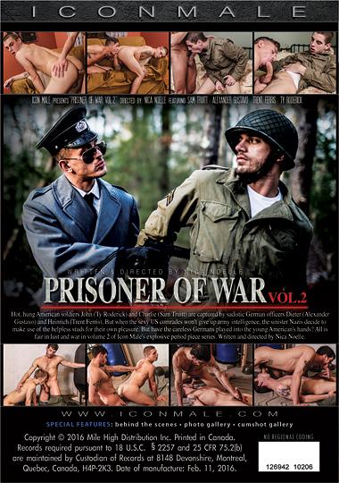 Prisoner of War 2 Back Cover