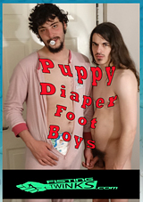 Puppy Diaper Foot Boys