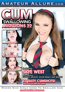 Cum Swallowing Auditions 22 cover