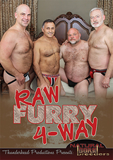 Raw Furry 4-Way