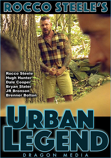 Rocco Steeles Urban Legend Cover Front