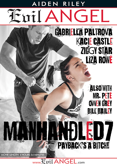 Manhandled 7 cover