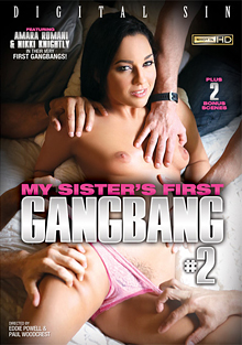 My Sister's First Gangbang 2 cover