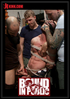 Bound In Public: Muscled Mechanic, Bound, Fucked From Both Ends, And Doused With Cum
