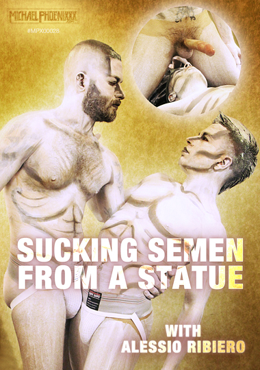 Sucking Semen From A Statue cover