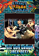 Six Guy Group Jack Off