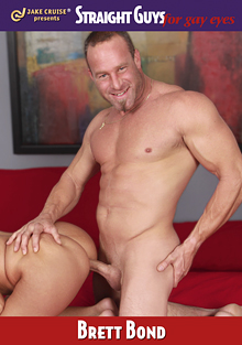 Straight Guys For Gay Eyes: Brett Bond cover