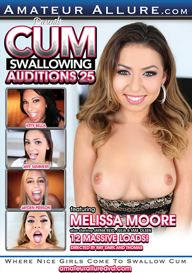 Cum Swallowing Auditions 25 cover