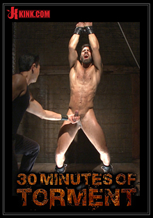 30 Minutes Of Torment: Super Hunk Adam Ramzi - Tormented And Ass Violated cover