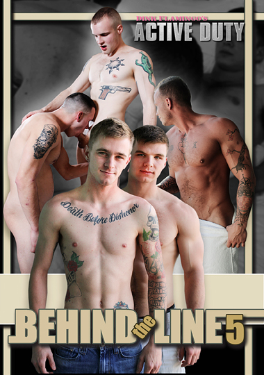 Behind The Line 5 cover