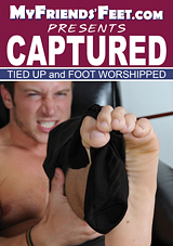 Captured, Tied Up And Foot Worshipped