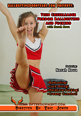 Teen Cheerleader Femdom Ballbusting And Fucking