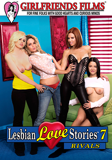 Lesbian Love Stories 7 cover