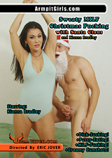 Sweaty MILF Christmas Fucking With Santa Claus And Kianna Bradley