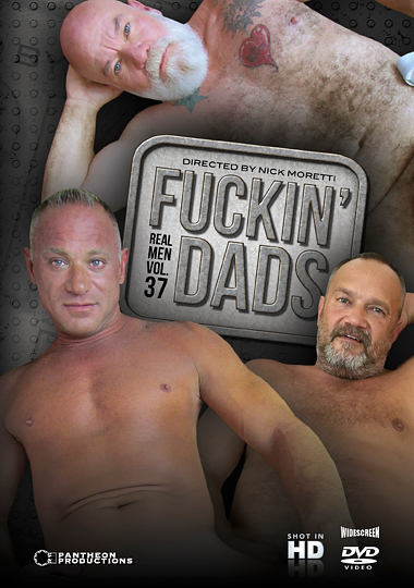 Real Men 37: Fuckin' Dads cover