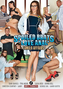 Spoiled Brats Love Anal: Family Affairs cover