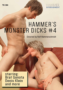 Hammer's Monster Dicks 4 cover