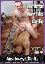 Power Bottom Benny Takes Clay Top