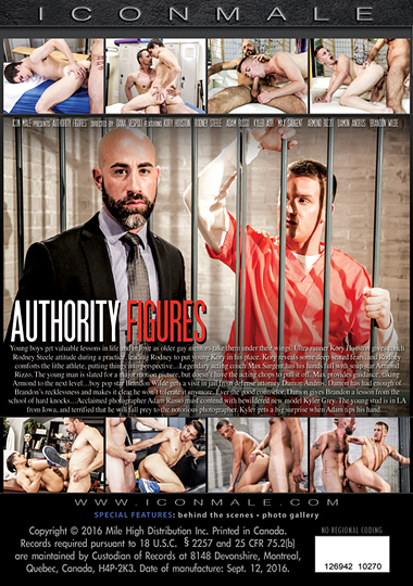 Authority Figures Cover Back