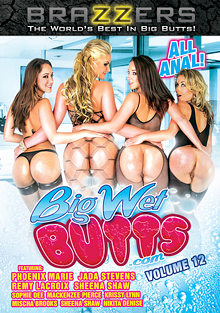 Big Wet Butts 12 cover