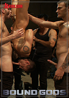 Bound Gods: Bonus Update From Bound In Public: Adam Knox Gets Caught In A Cum Fest