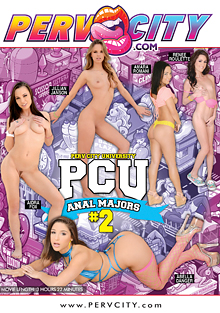 Perv City University Anal Majors 2 cover