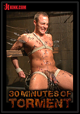 30 Minutes Of Torment: Jacob Durham Gets Oiled Down, Beaten, And Fucked Like An Animal