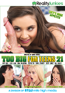 Too Big For Teens 21 cover