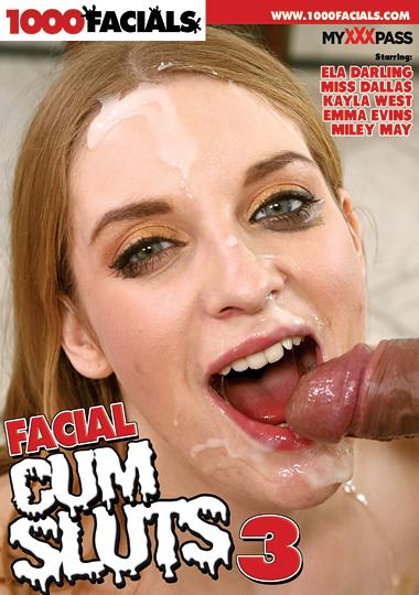 Facial Cum Sluts 3 cover