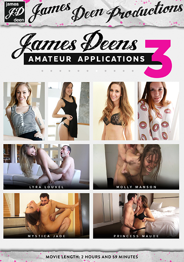 James Deen's Amateur Applications 3 cover