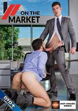 on the market, hot house, gay, porn, jj knight, austin wolf, white collar
