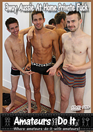 3way Aussie At Home Private Fuck