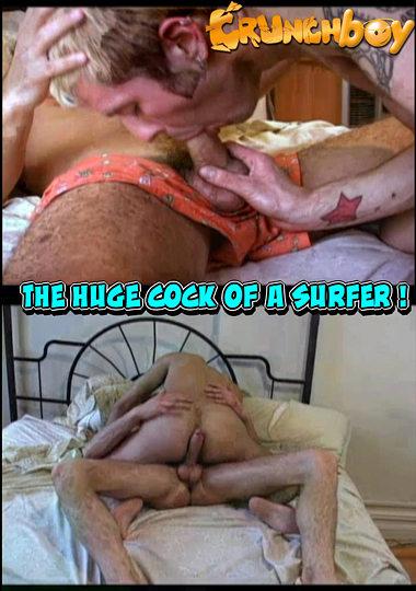 The Huge Cock Of A Surfer cover