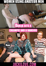 Dahlia Gets A Creampie And A Handjob