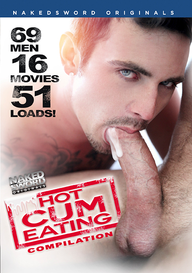 Hot Cum Eating Compilation Cover Front