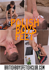 Polish Boys Feet
