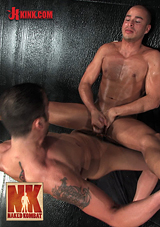 Naked Kombat: John Stone Vs Spencer Reed The Oil Match
