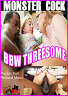 Monster Cock BBW Threesome