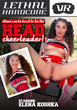 Elena Works Hard To Become The Head Cheerleader