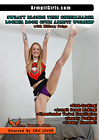 Sweaty Blonde Teen Cheerleader Locker Room CFNM Armpit Worship With Hillary Paige