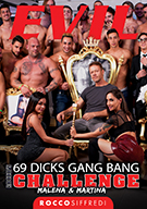 Rocco's 69 Dicks Gang Bang Challenge: Malena And Martina