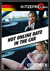 Hot Online Date In The Car