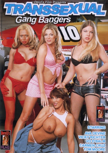 Transsexual Gang Bangers 10 cover