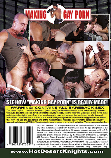 Making Gay Porn Cover Front