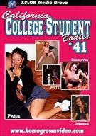 California College Student Bodies 41