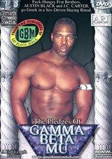 The Pledges Of Gamma Beta Mu