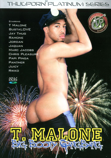 T. Malone Big Booty Gangbang Cover Front