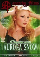 Playing With Aurora Snow